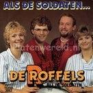 Een afbeelding van de Roffels. met de single op vinyl als de soldaten